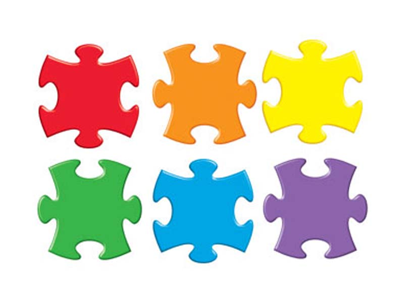Clip Art Puzzle Pieces-clip art puzzle pieces-1