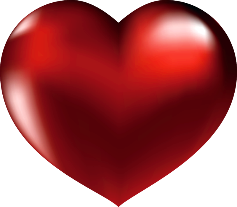 Clip Art Red Heart Clipart Pa - Free Heart Clipart