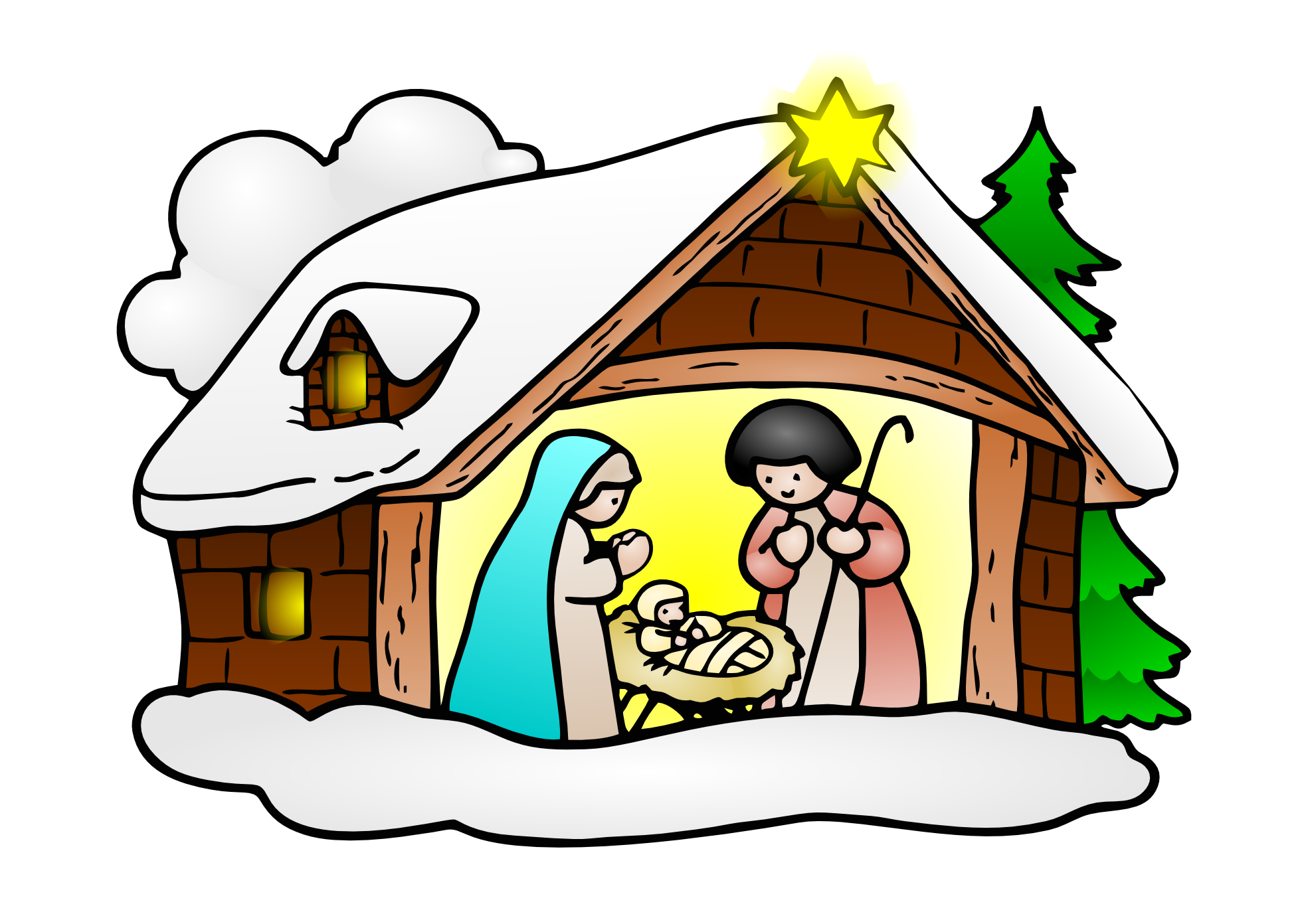 Clip Art Religious Christmas Clipart religious christmas greeting clipart clipartfox merry nativity