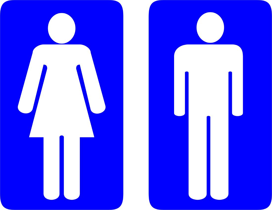 Clip Art Restroom Etiquette Signs Clipart Cliparthut Free Clipart