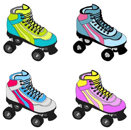 Clip Art Roller Skate Clipart roller clipart clipartfox skate clip art
