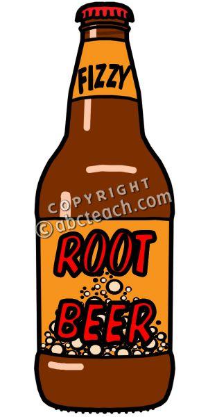 Clip Art: Root Beer Color .