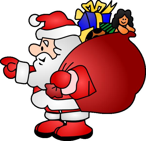 Clip Art Santa Clause - Clipart Library-Clip Art Santa Clause - Clipart library-2