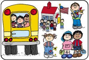 Clip Art: School Days-Clip Art: School Days-2