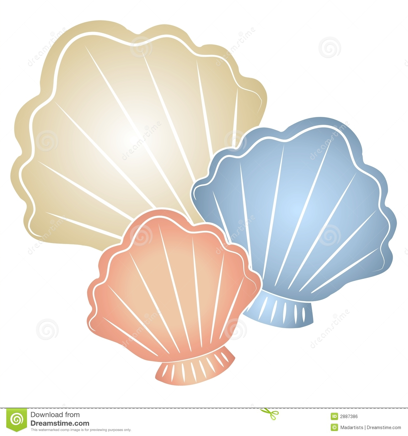 Clip Art Seashell Clip Art seashells clip art clipartall pastel art