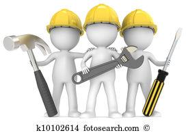 Clip Art. Service and repair.
