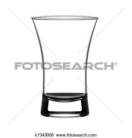 Clip Art. Shot glass