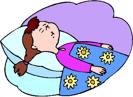Clip Art Sleeping Clip Art