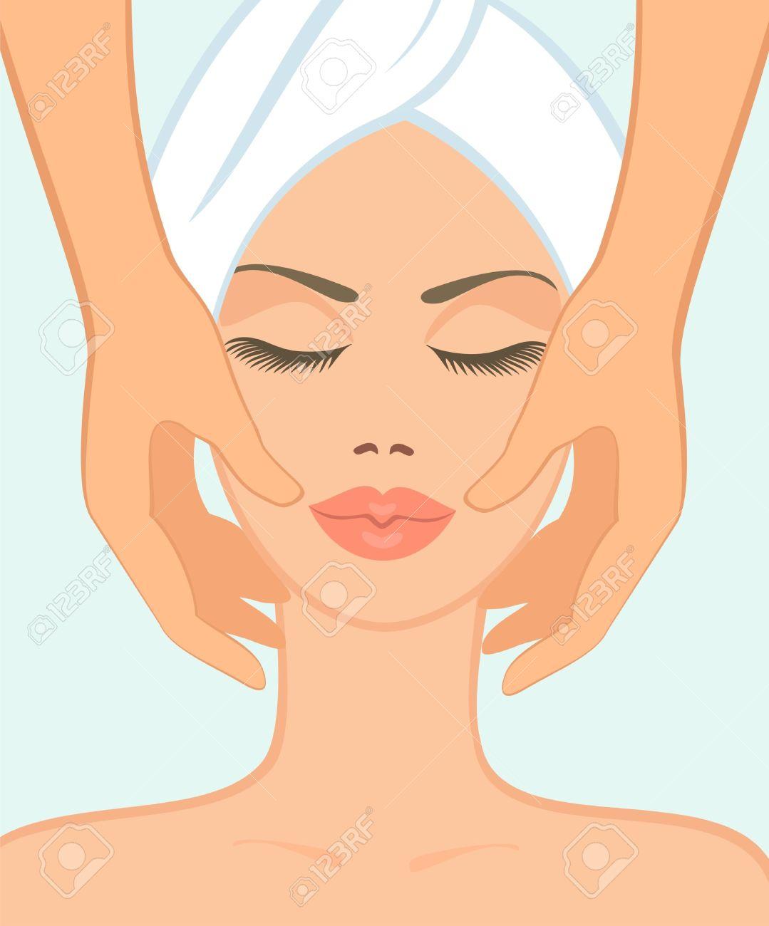Clip Art Spa Facial Treatments
