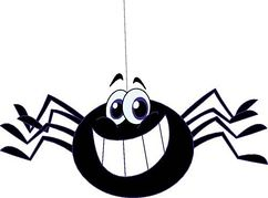 Clip art spider clipart image