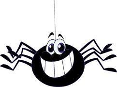 Clip art spider clipart image
