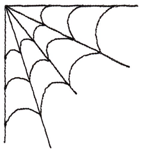 Clip Art Spider Web Clip Art clipart spider web clipartfox corner 1