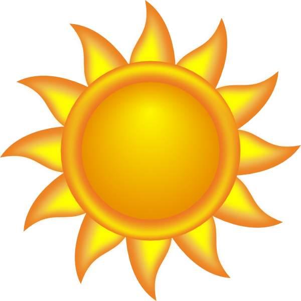 Clip Art Sun 2