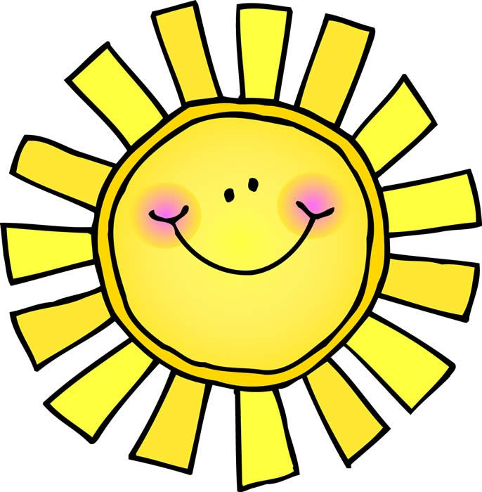 Clip Art Sunshine - clipartall