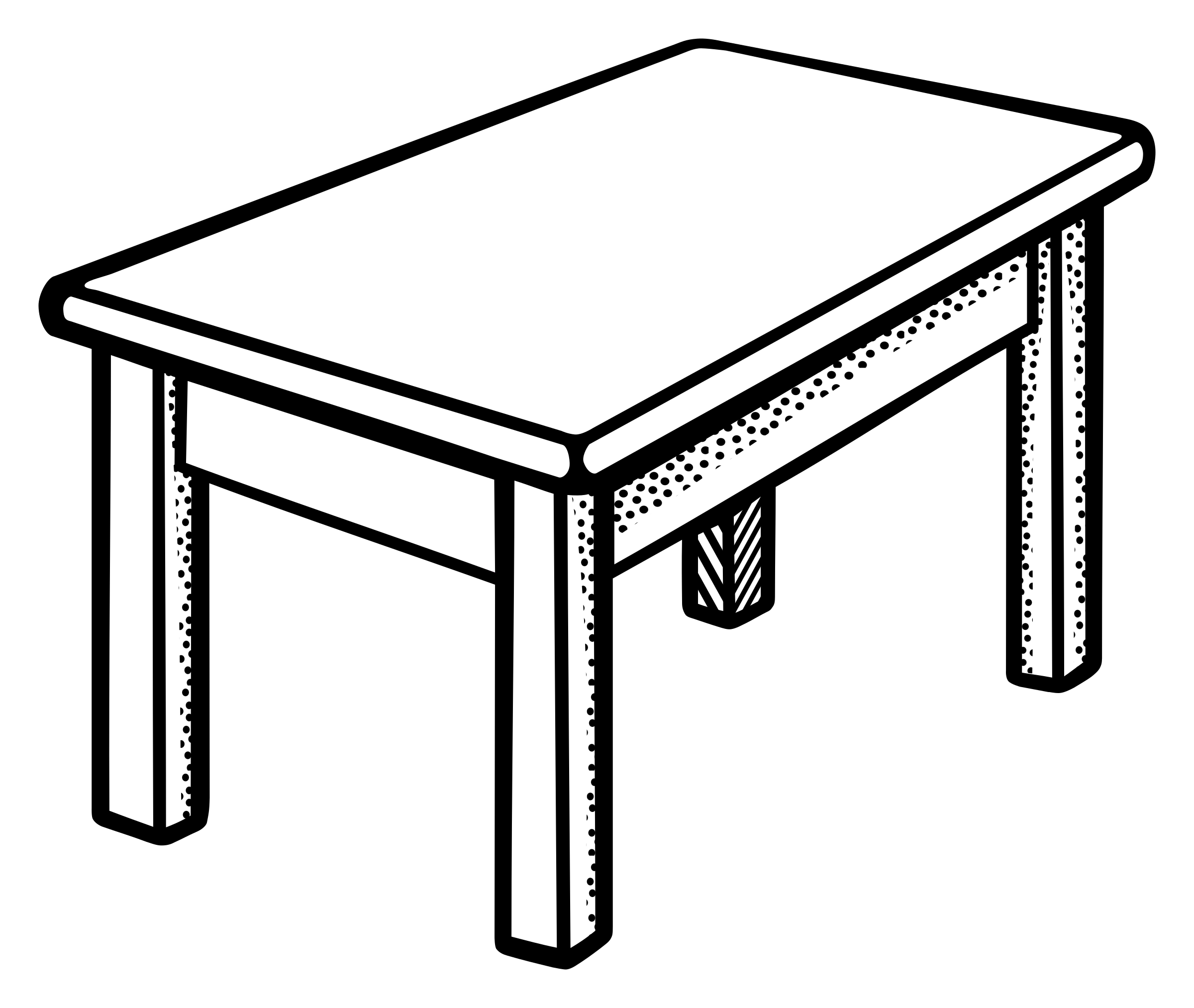 Clip art tables clipartall - Table Clip Art