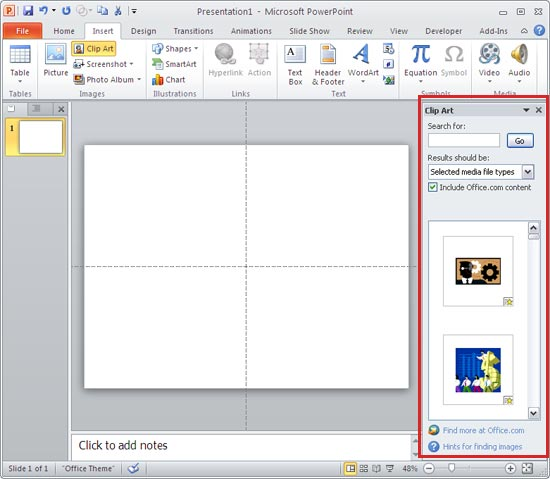 Clip Art Task Pane In .-Clip Art task pane in .-6