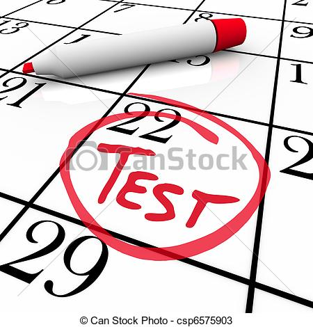 Clip Art Test Clipart Exam Illustrations-Clip Art Test Clipart exam illustrations and clipart 35192 royalty free test day circled on calendar-2
