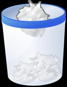 Clip Art Trash Can Clipart trash can clip art at clker com vector online royalty art