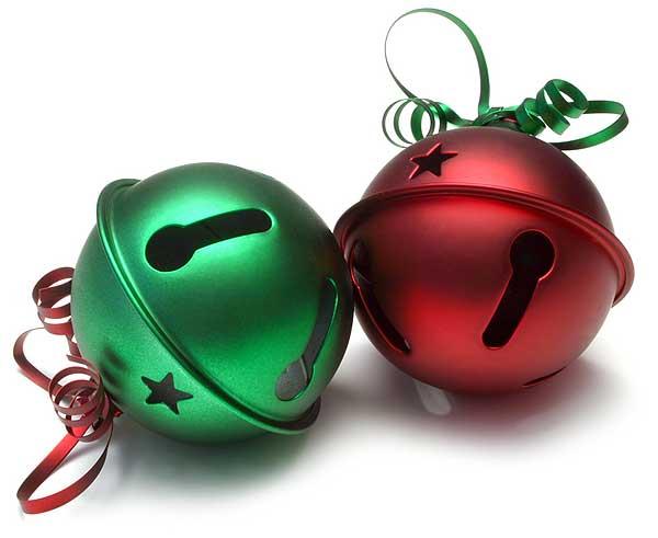Clip Art: Tree Jingle Bells Ornament Christmas ... A Big .