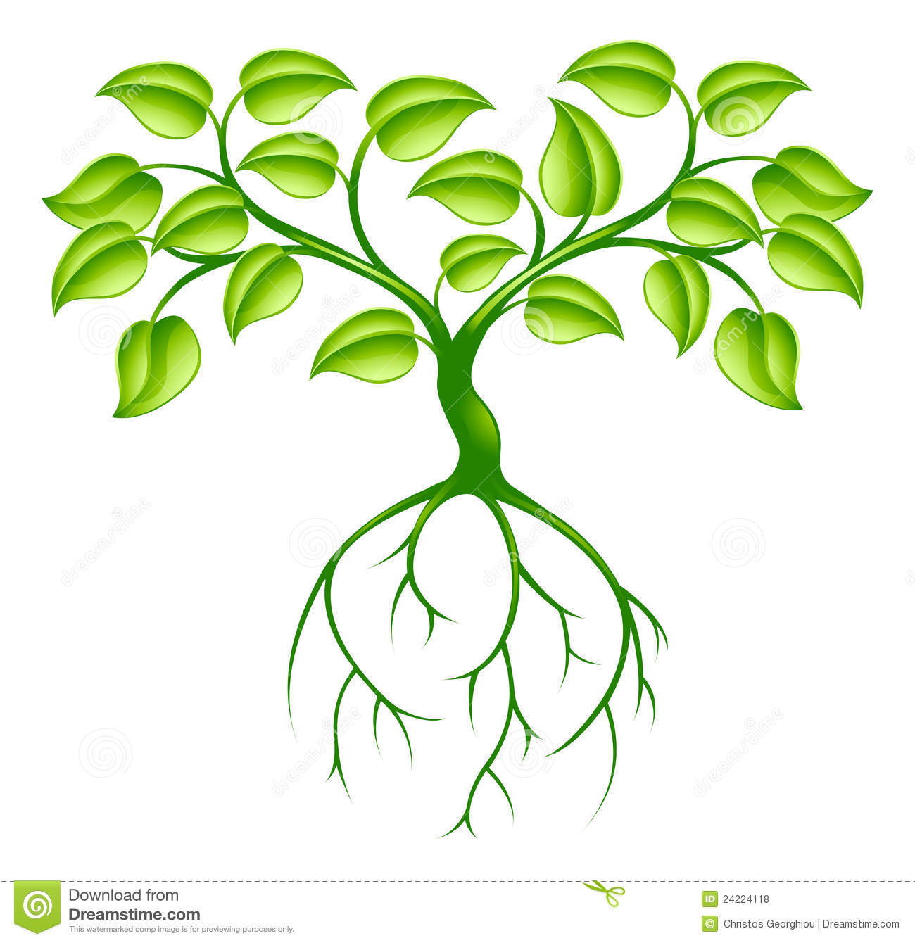 Clip Art Tree With Roots Clipart Panda Free Clipart Images