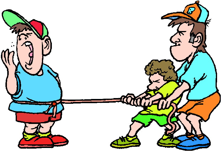 Clip art » Tug of war