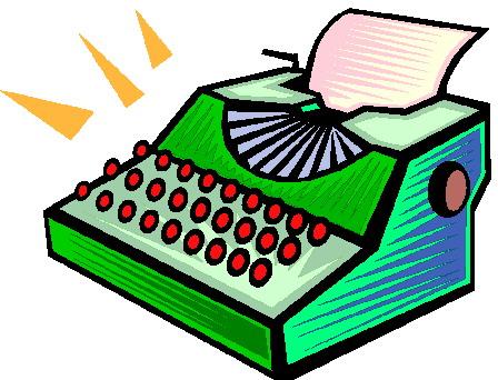 Clip Art Typewriter Clip Art