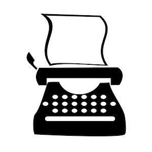 Clip Art Typewriter-Clip Art Typewriter-4