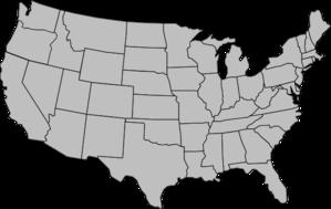 Clip Art United States Clip Art Clipart -Clip Art United States Clip Art clipart of united states map outline clipartfox america map-11