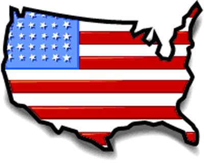 Clip Art United States Map - Clipart library