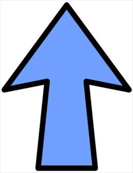 Clip Art Up Arrow