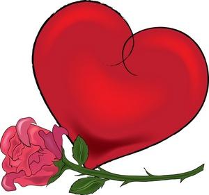 Clip Art Valentine Hearts Clip Art valentine heart clipart clipartall  image long