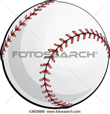 Clip Art. Vector Baseball-Clip Art. Vector Baseball-12