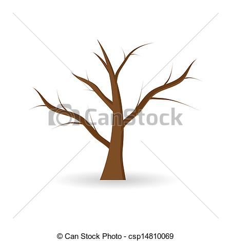 Clip Art Vector Of Tree Without Leaves Csp14810069 Search Clipart