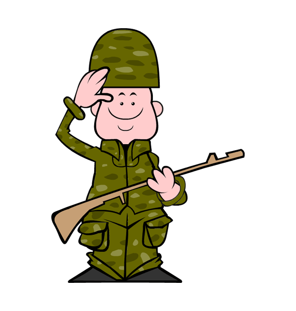 clip art veterans day soldier