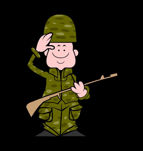 clip art veterans day soldier