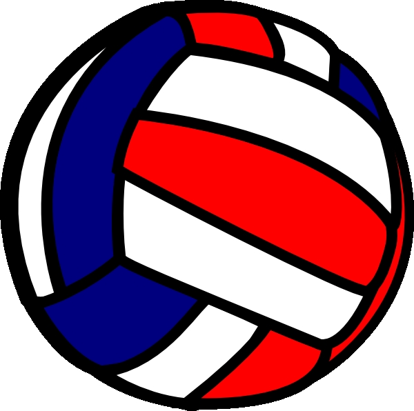 Clip art volleyball - .
