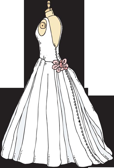 Clip Art Wedding Dress Clipart .-Clip Art Wedding Dress Clipart .-4