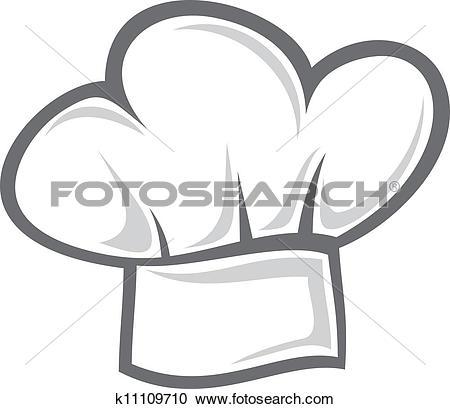 Clip Art. White Chef Hat-Clip Art. white chef hat-11