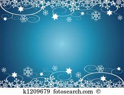 Clip Art. Winter Holidays BG
