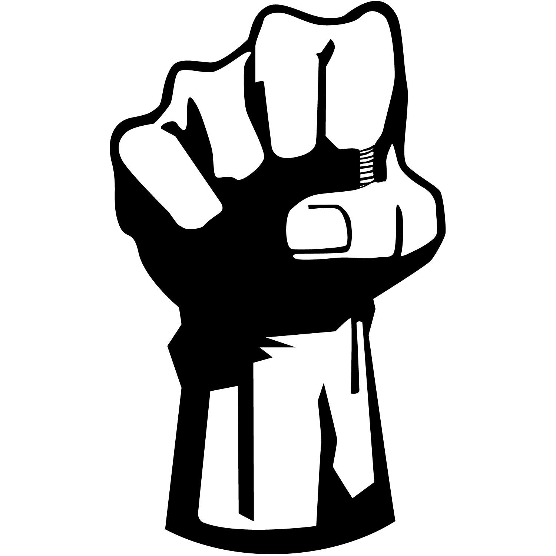 Clip art woman fist pump clipart kid