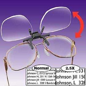 Clip N Flip Magnifying Glasses-Clip N Flip Magnifying Glasses-6