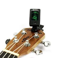 Clip-on LCD Digital Chromatic Electronic Guitar Tuner Bass Violin Ukulele D15 YA