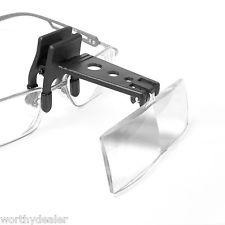 Clip-On Reading Glasses Magnifier Lens M-Clip-On Reading Glasses Magnifier lens Magnifying glass hands free clip on lense-11
