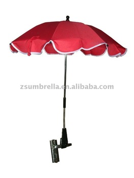 Clip umbrella clamp umbrellas for strollers