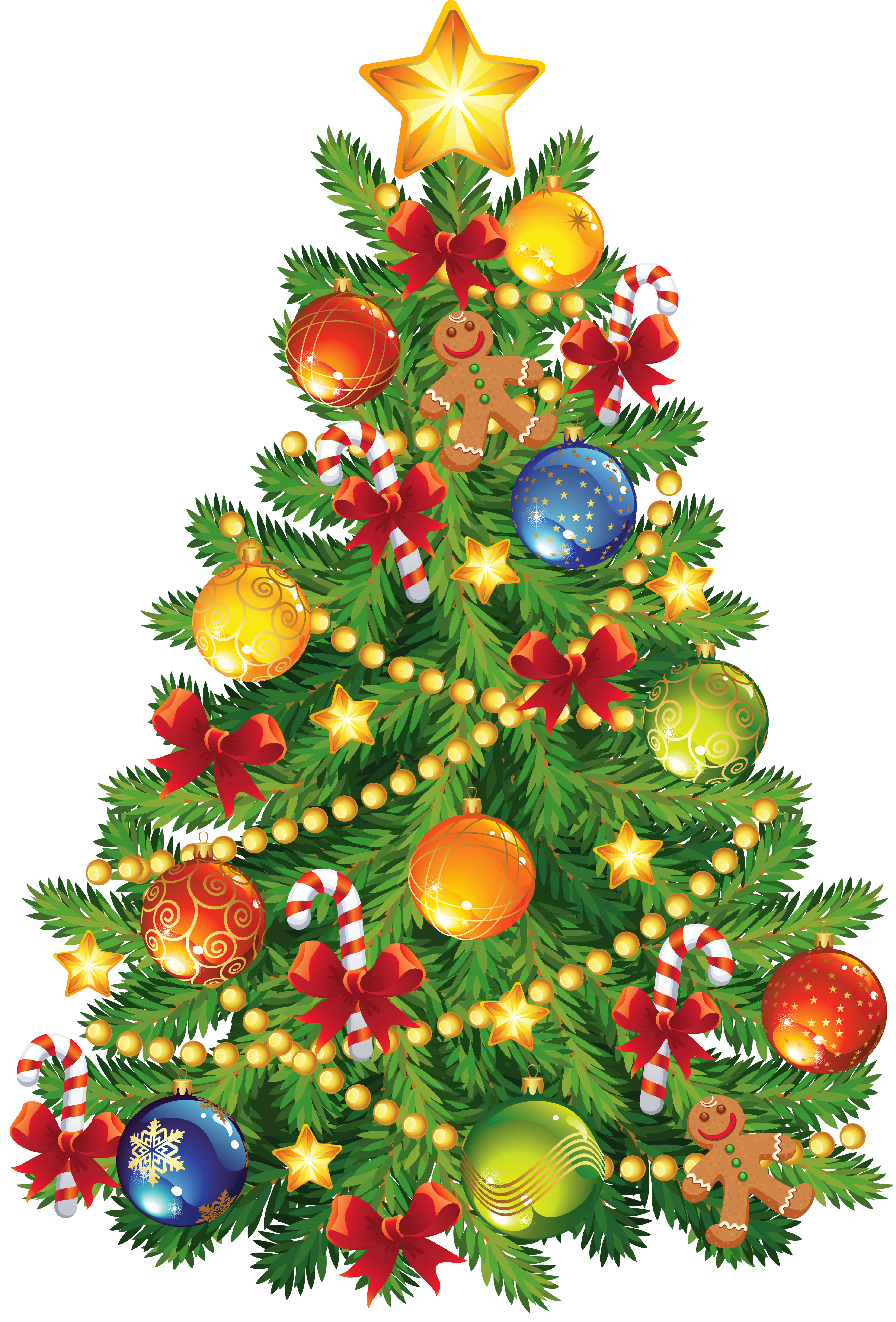 clipart 0. Christmas trees .