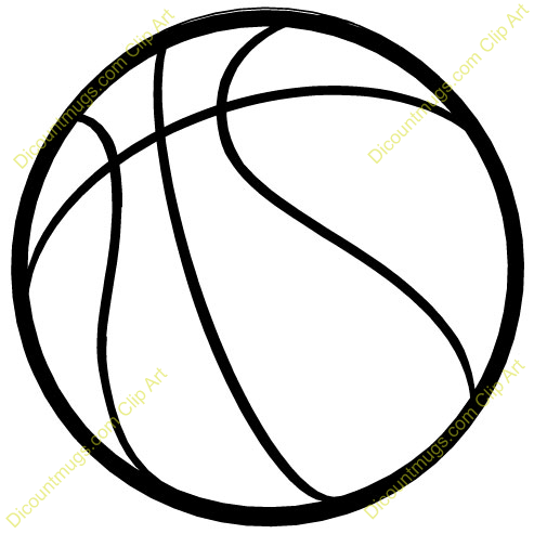 Clipart 10150 Basketball .