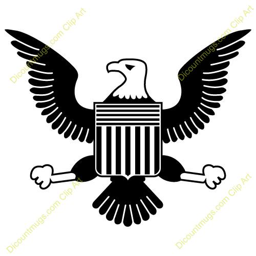 Clipart 11484 American Eagle American Ea-Clipart 11484 American Eagle American Eagle Mugs T Shirts Picture-10