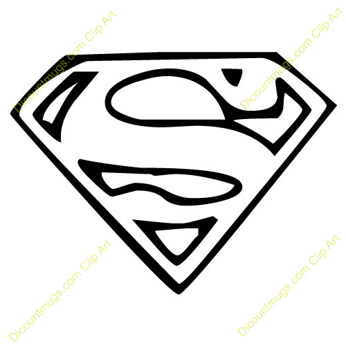 Clipart 12009 Superman Emblem Superman E-Clipart 12009 Superman Emblem Superman Emblem Mugs T Shirts-3