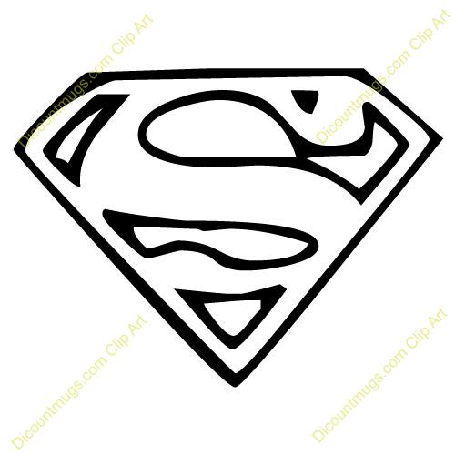 Clipart 12009 Superman Emblem Superman Emblem Mugs T Shirts