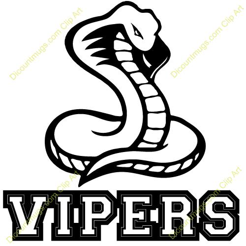 Clipart 12311 Vipers Vipers .-Clipart 12311 Vipers Vipers .-9